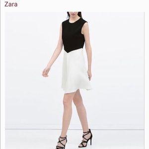 Zara color block sleeveless dress